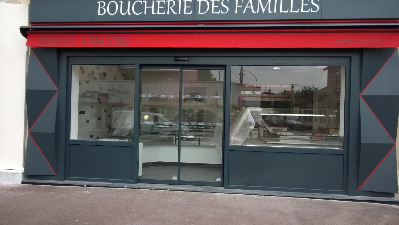 Boucheries des familles